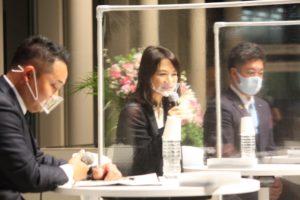 3月例会 横浜市役所アトリウム、YouTubeにてハイブリッド開催